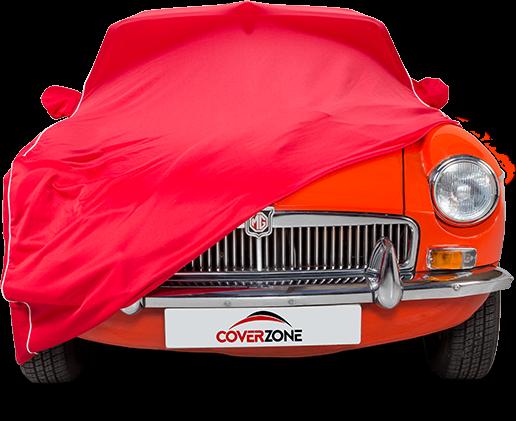 Kalahari Indoor Car Cover - Part covered MG