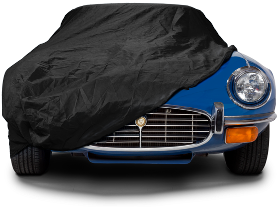 Sahara Indoor Car Covers - Part covered E-Type Jaguar